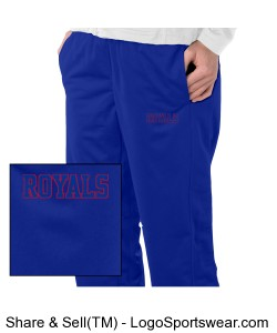 Ladies Tricot Track Pant Design Zoom